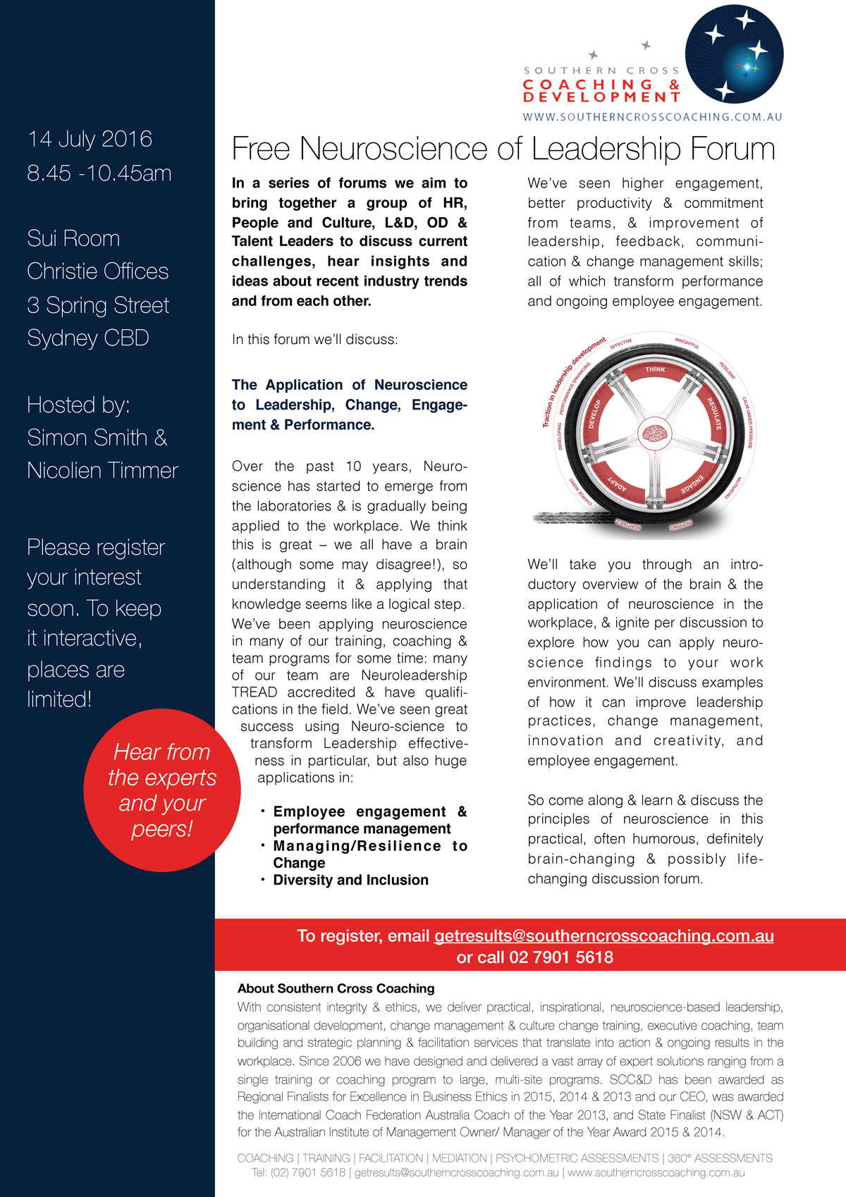 Private Sector -Neuroscience Forum Flyer -14-July