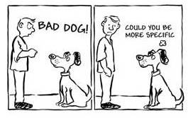 Bad Dog Image Giving and Receiving Feedback Southern Cross Coaching and Development